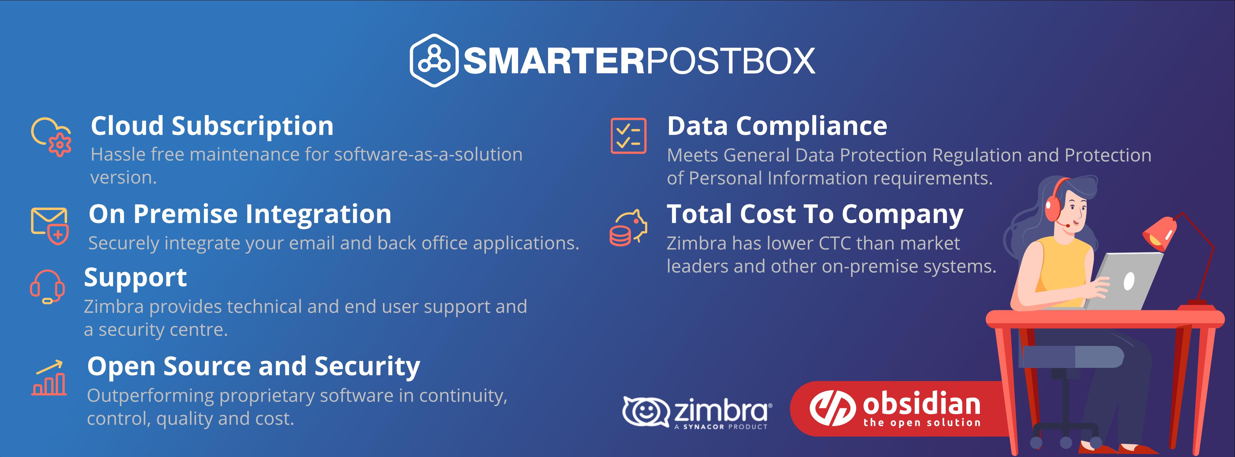SmarterPostbox with Zimbra
