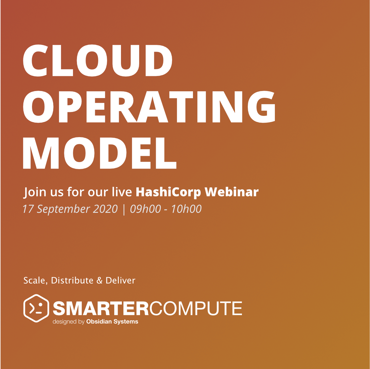 Cloud Operating Model with HashiCorp
